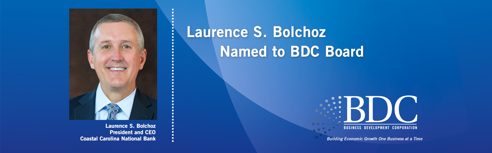 Laurence S. Bolchoz Named to BDC Board